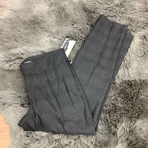 S.C & CO. | Women's Dress Pant | Grey Plaid
